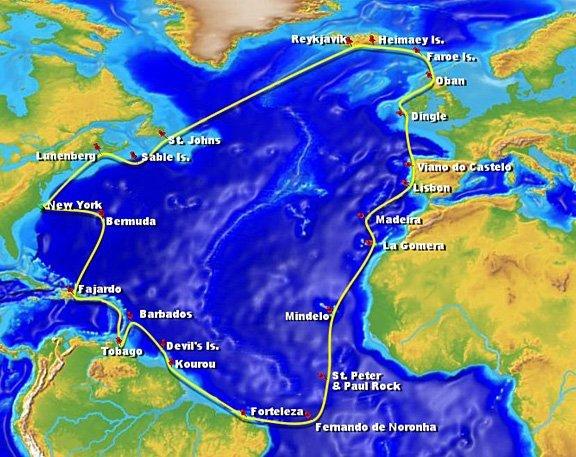 North Atlantic Voyage